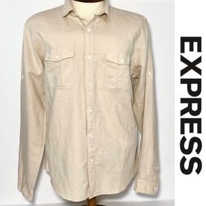 Express Men's Long Sleeves Shirt